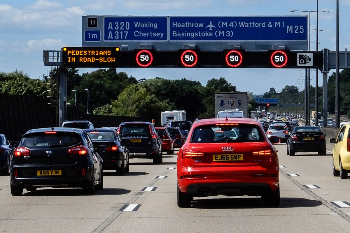 Traffic alert: Britain's five busiest road sections revealed